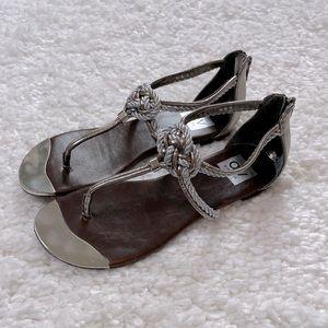 DV Dolce Vita Strappy Knot Flat Sandals